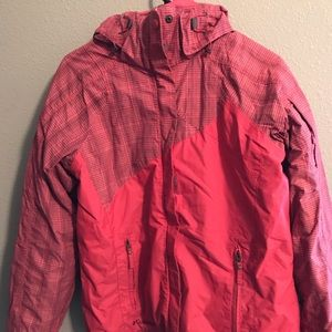 Women's Columbia winter jacket with insert